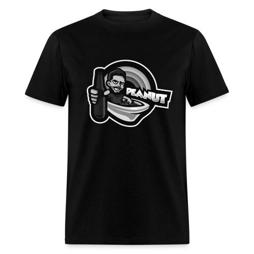 Alcohol Tub /Text Hoodie Black (Mens) - Men's T-Shirt