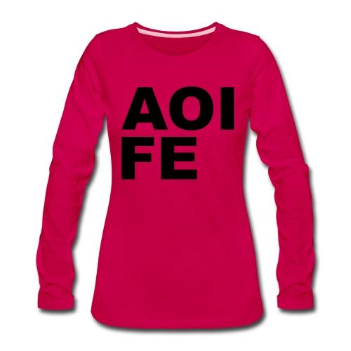 Aoife - Women's Premium Long Sleeve T-Shirt