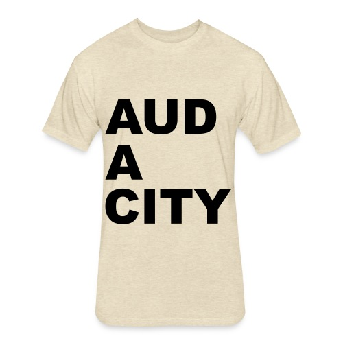 Audacity - Fitted Cotton/Poly T-Shirt by Next Level