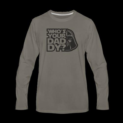 WsYD Asphalt - Men's Premium Long Sleeve T-Shirt