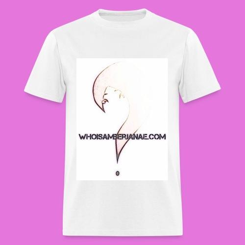 Men's Whoisamberjanae Logo Tee - Men's T-Shirt