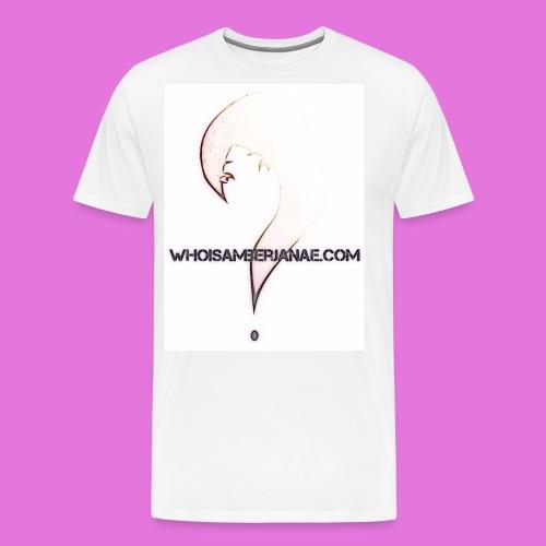 Men's Whoisamberjanae Logo Tee - Men's Premium T-Shirt