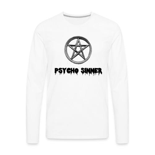 Psycho Sinner Shirt - Men's Premium Long Sleeve T-Shirt