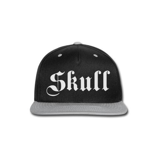 Skull text Women's tee - Snap-back Baseball Cap