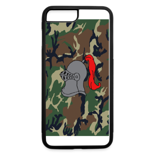 Knights Camo iPhone 6 Logo Case - iPhone 7 Plus/8 Plus Rubber Case