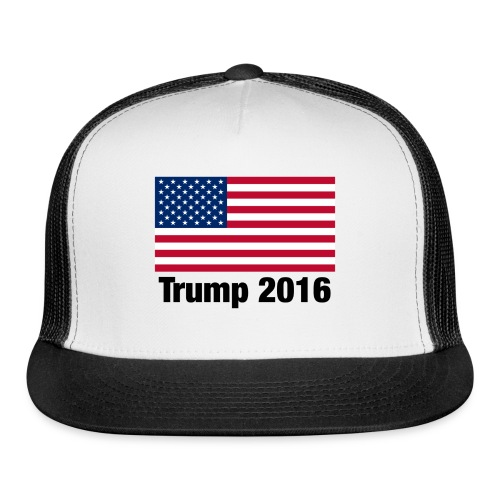Trump 2016 - White - Trucker Cap