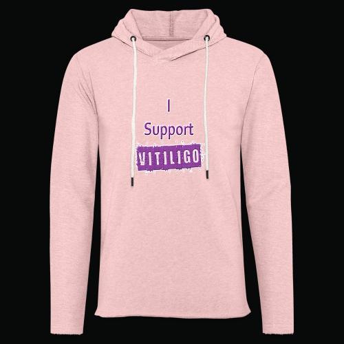 I Support Vitiligo - Unisex Lightweight Terry Hoodie
