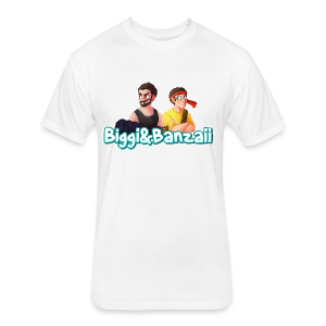 B&B Logo T-Shirt - Fitted Cotton/Poly T-Shirt by Next Level