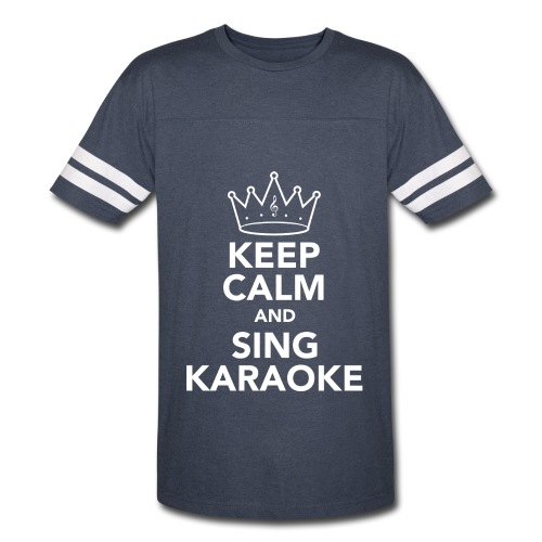 Keep Calm Mens Vest - Vintage Sport T-Shirt
