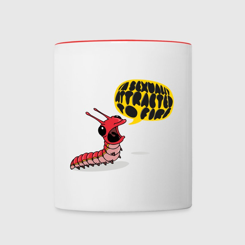 Screamapillar - Sexually Attracted to Fire Mugs & Drinkware - Contrast Coffee Mug