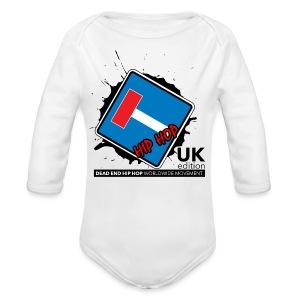 Women's DEHH United Kingdom - Long Sleeve Baby Bodysuit