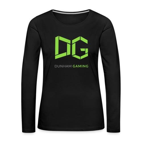 Dunham Gaming Tee (Women) - Women's Premium Long Sleeve T-Shirt