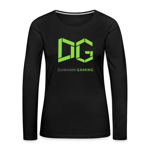 Dunham Gaming Tee (Women) - Women's Premium Long Sleeve T-Shirt
