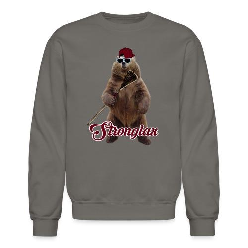 Stronglax Bear Hoodie - Crewneck Sweatshirt