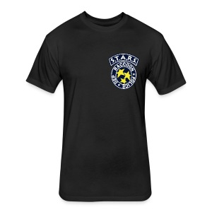 S.T.A.R.S. Raccoon City PD Shirt - Fitted Cotton/Poly T-Shirt by Next Level
