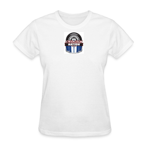 Womans V Neck CGN Badge - Women's T-Shirt