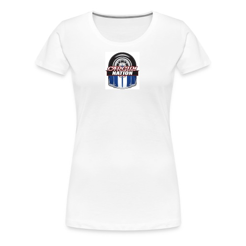Womans V Neck CGN Badge - Women's Premium T-Shirt