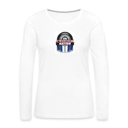 Womans V Neck CGN Badge - Women's Premium Long Sleeve T-Shirt