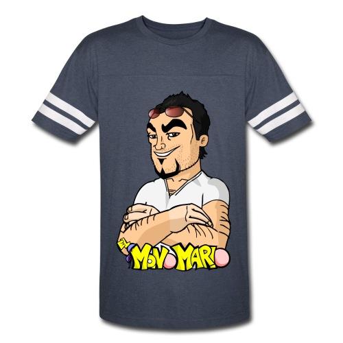 Escote en V - Vintage Sport T-Shirt