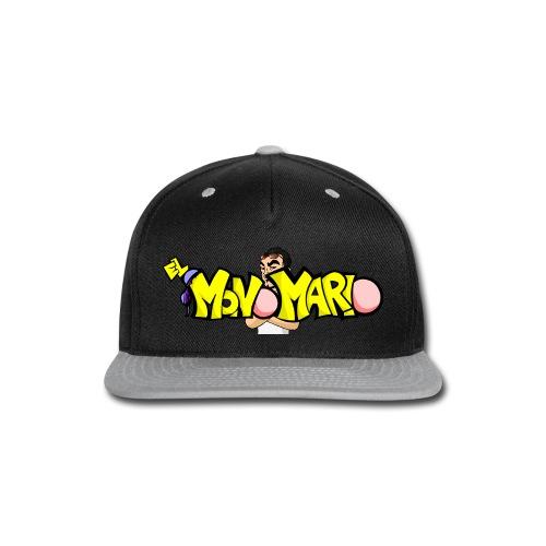 Escote en V - Snap-back Baseball Cap