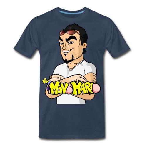 Escote en V - Men's Premium T-Shirt