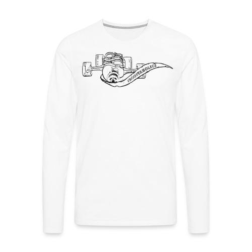 #Boostaholics Subaru boxer engine vintage - Men's Premium Long Sleeve T-Shirt