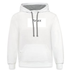 Relax Tee Women's T-Shirts - Contrast Hoodie