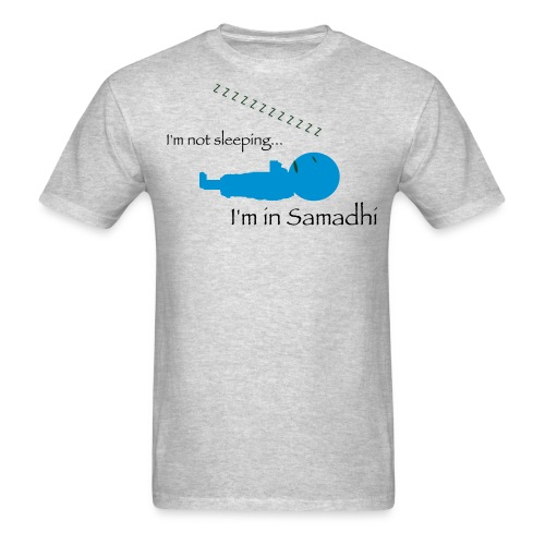 I'm Not Sleeping, I'm in Samadhi, Men's Premium T-shirt - Men's T-Shirt