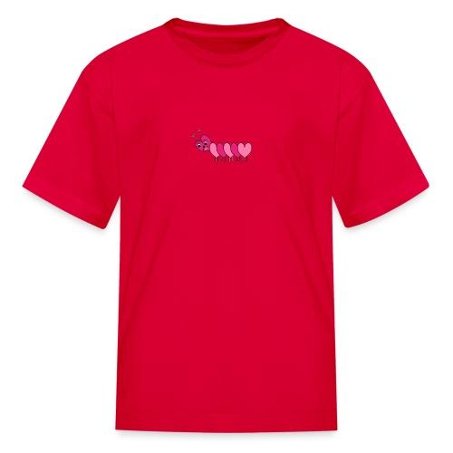 Heart Caterpillar - Kids' T-Shirt