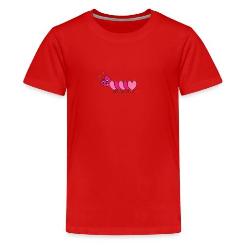 Heart Caterpillar - Kids' Premium T-Shirt