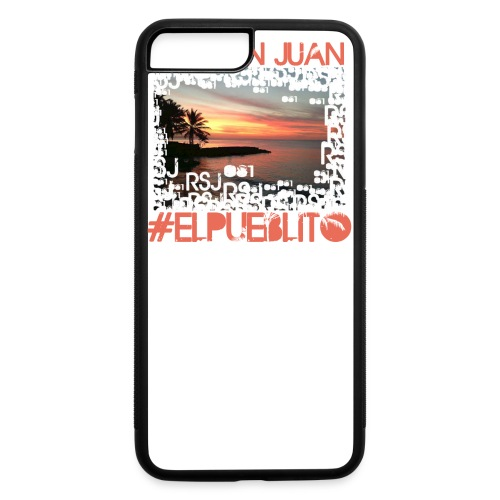 Rio San Juan #elpueblito - iPhone 7 Plus/8 Plus Rubber Case