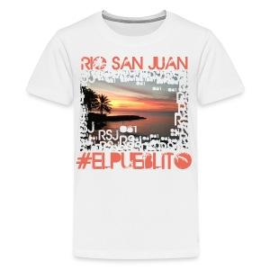 Rio San Juan #elpueblito - Kids' Premium T-Shirt