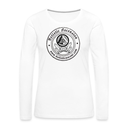 Holistic Ascension Logo Shirt - Women's Premium Long Sleeve T-Shirt