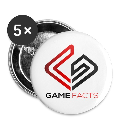 GameFacts - Water Bottle - Buttons small 1'' (5-pack)