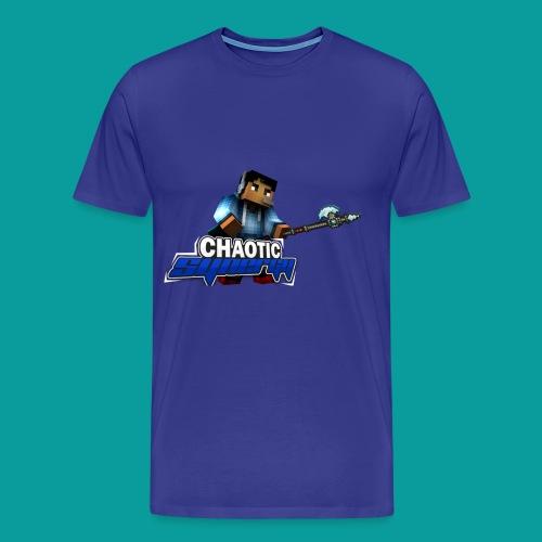 Chaotic Synergy - Crewneck - Men's Premium T-Shirt