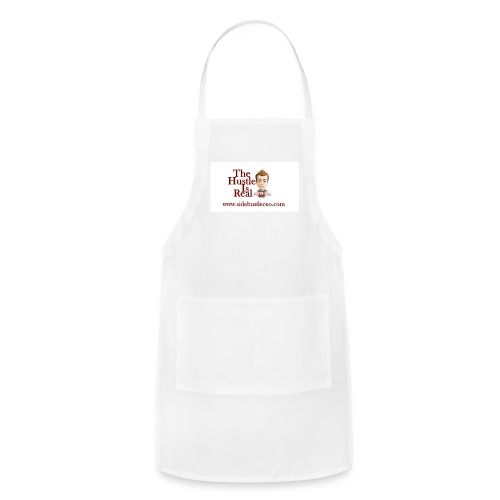 The Hustle Is Real w/ Logo - Adjustable Apron