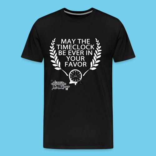 Hunger Swims- Men's LS Tee - Men's Premium T-Shirt