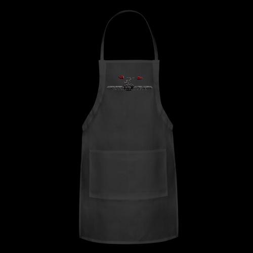 Serrano Strength Black T-Shirt - Adjustable Apron