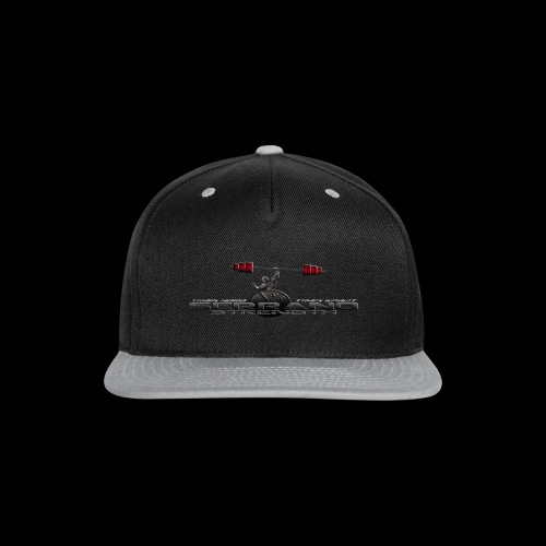 Serrano Strength Black T-Shirt - Snap-back Baseball Cap