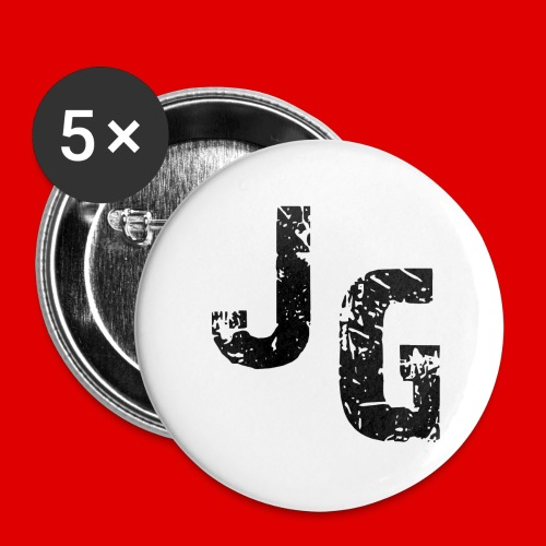 JaKeGames - Coffee/Tea Mug - Buttons small 1'' (5-pack)