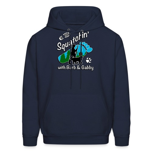 Men's Squatchin with Barb and Gabby Long Sleeve T-Shirt - Men's Hoodie