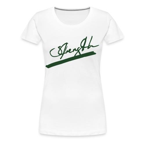 Strength Tee - Women's Premium T-Shirt