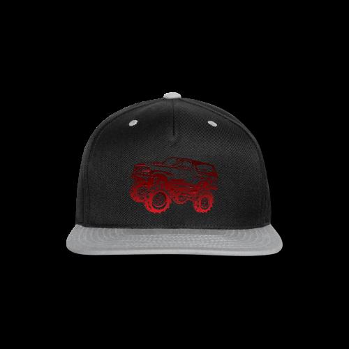 Red Mega Ford Bronco Shirt - Snap-back Baseball Cap