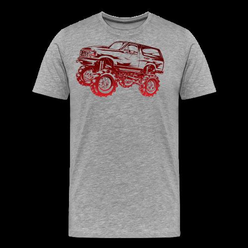 Red Mega Ford Bronco Shirt - Men's Premium T-Shirt