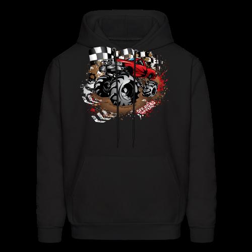 Red Race Mega Truck - Men's Hoodie
