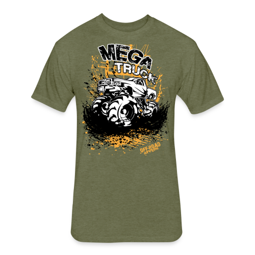 Mega Truck - Fitted Cotton/Poly T-Shirt by Next Level