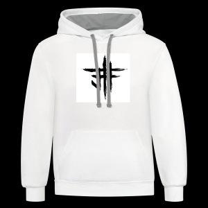 Jesse Howard - Logo - Contrast Hoodie