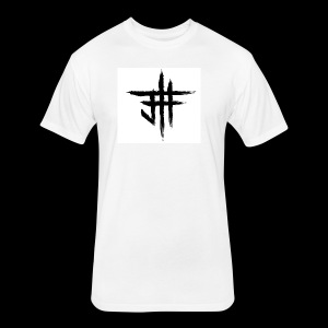 Jesse Howard - Logo - Fitted Cotton/Poly T-Shirt by Next Level
