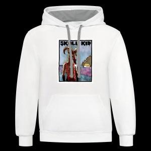 Skull Kid - Goat Man - Contrast Hoodie