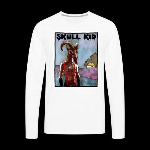 Skull Kid - Goat Man - Men's Premium Long Sleeve T-Shirt